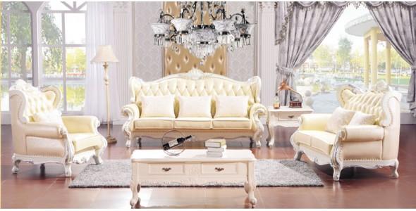 实木 欧式田园沙发 F8008,欧堡娜,家具,客厅,沙发