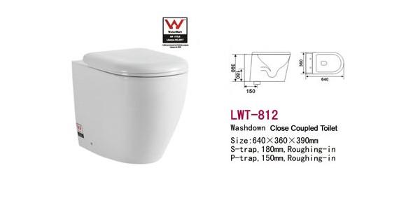 澳大利亚认证挂便器 壁挂马桶 LWT-812