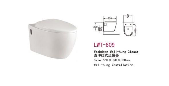 澳洲Watermark 认证直冲挂便器 FWT-809