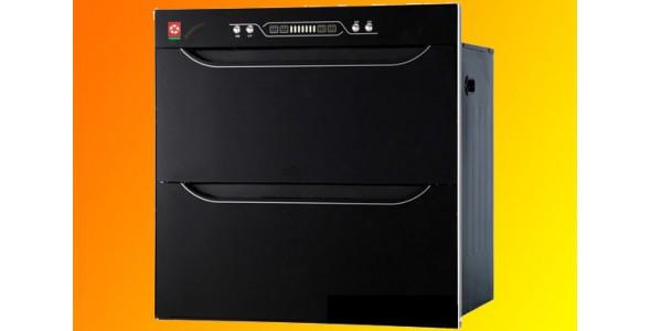 高低温,钛黑镀膜钢化玻璃面板消毒柜,意米斯,家居装饰,生活电器,消毒柜