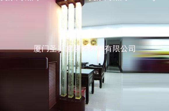 特级超白水晶柱 透明精磨方形水晶柱