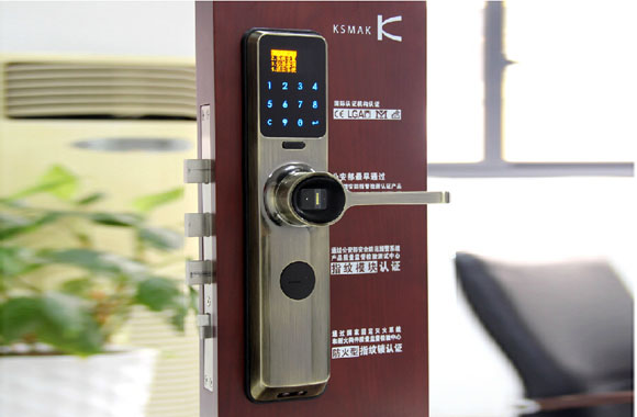 金指码指纹锁官方正品智能电子锁家用防盗门锁K91GM,,建材,家装五金,锁具