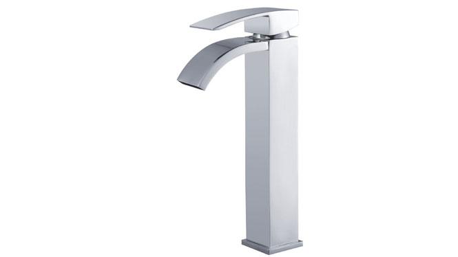 全铜复古瀑布台盆水龙头欧式仿古金色面盆龙头加高洗手盆水龙头 GH-5020