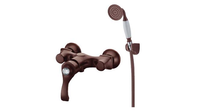古铜带钻淋浴龙头 欧式简易淋浴 厂家批发花洒龙 DP31006B