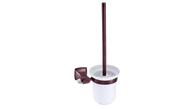 古铜色带钻马桶刷 厂家批发 浴室挂件全铜马桶杯架 DP3108B