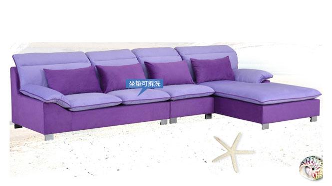 高档 现代布艺沙发 组合 沙发 客厅转角 大小户型 861