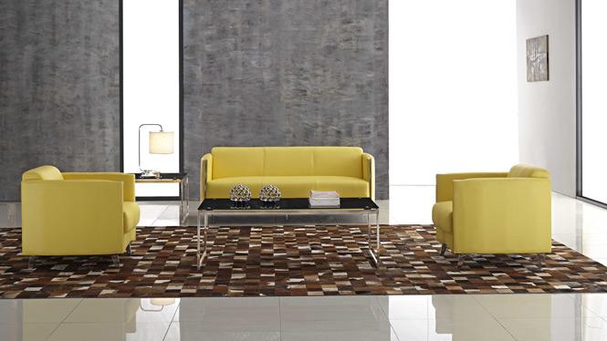 进口头层牛皮 真皮沙发 中厚皮质 客厅组合  高档皮沙发