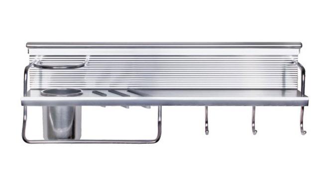 厨卫挂件太空铝 厨房挂件 厨房五金 厨房置物架刀架厨房挂架 BM022亮光
