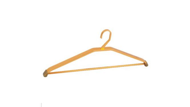铝衣架 裤勾衣架 纯太空铝衣架 铝合金晾衣架喷砂氧化 YJ022