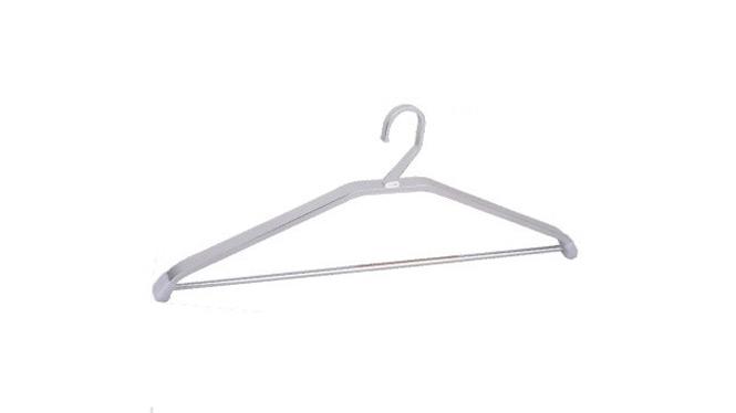 晾衣架 加厚太空铝衣架 家装铝晾衣架 室内挂衣架 YJ022A