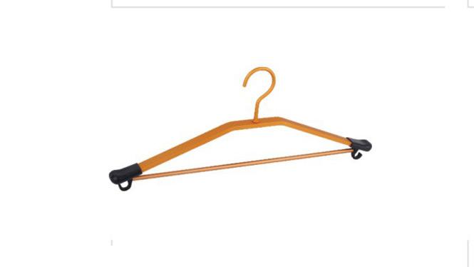 高档太空铝合金衣架三角衣架批发晾衣架衣撑晒衣架多功能挂钩衣架 YJ023