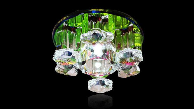 厂家直销81012LED水晶灯过道灯玄关灯走廊灯门厅灯射灯筒灯