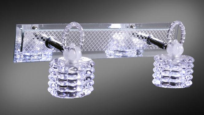 83006镜前灯现代简约浴室灯具水晶灯卧室灯卫生间灯饰