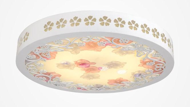 LED无极调光现代时尚温馨羊皮纸木艺灯 85003
