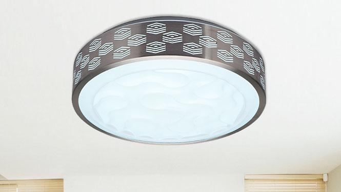 LED调光调色现代简约卧室灯阳台灯亚克力铝材灯过道灯厨房灯85018
