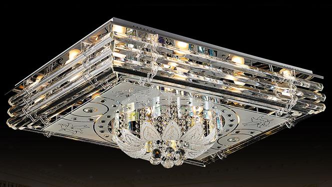 水晶灯吸顶灯LED客厅灯饰灯具简约卧室餐厅灯 5648