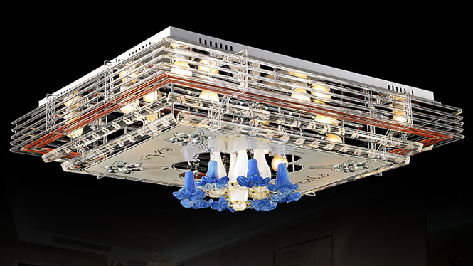 现代简约时尚led水晶灯客厅灯吸顶灯卧室灯温馨浪漫餐厅灯具饰 79190