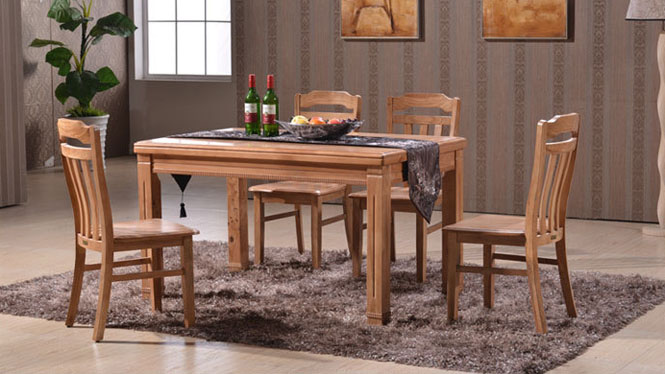 餐桌-餐台椅 家用餐厅餐桌椅 桌子124# 135*85*76