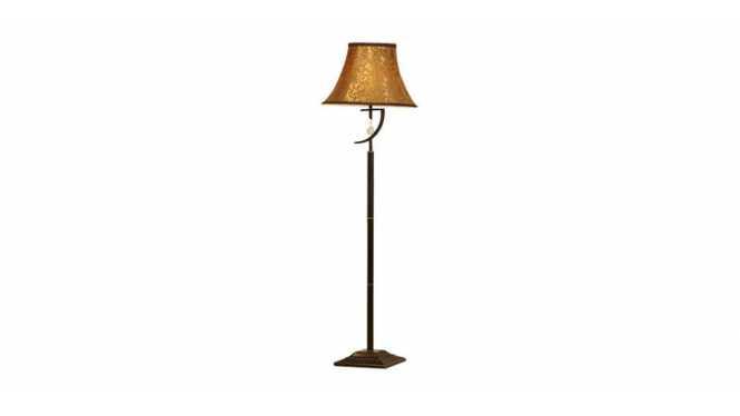 欧式书房卧室灯饰 高品质布艺床头台灯 FL034-1