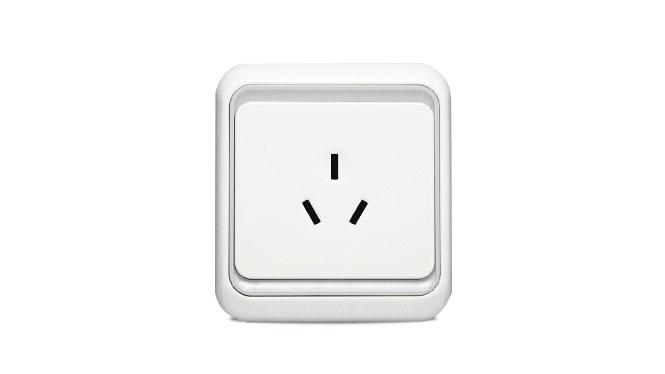 西蒙开关插座面板 西蒙60欧式系列16A三孔空调插座面板60436-50