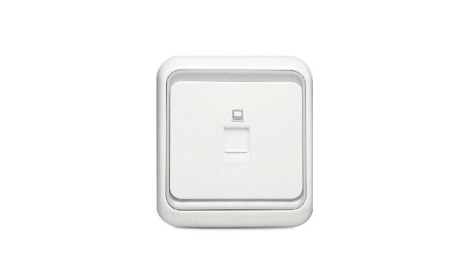 西蒙电气开关插座面板60系列电脑网线信息插座面板电脑插