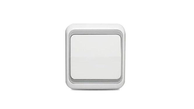 西蒙开关插座面板60系列雅白色空白面板插座空白盖板