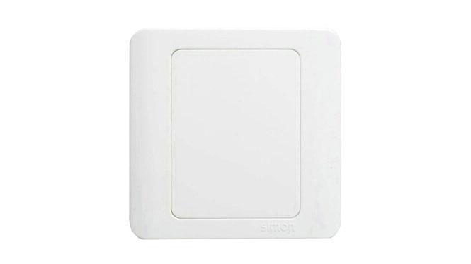 西蒙86型 C3白色系列 空白面板盖板 C31000