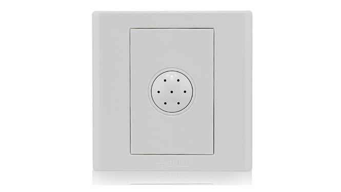 公牛开关插座面板86型 100W 声控开关 声光控 G06D107
