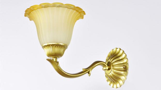 欧式壁灯 美式乡村温馨床头镜前灯饰 走廊过道卧室客厅灯具 805-1B