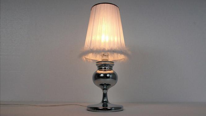 卧室现代简约创意床头灯 护眼LED台灯婚庆宜家布艺装饰小陶瓷台灯 TD048
