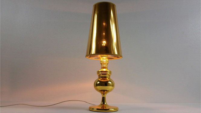 时尚简约水晶台灯 欧式床头LED布艺书房创意卧室灯具 TD049