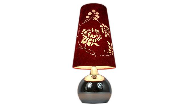 卧室台灯床头现代简约客厅书房灯 触摸感应 布艺装饰灯饰 TD053