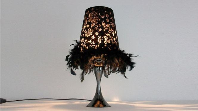 简约卧室小台灯装饰创意时尚床头灯书房学习台灯宜家艺术布艺台灯 TD055