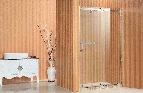 一字型 不锈钢 淋浴房 F6-2