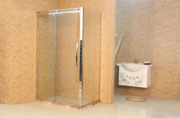 方形 不锈钢 淋浴房 F4-2