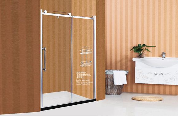 一字型 不锈钢 淋浴房 F1-2