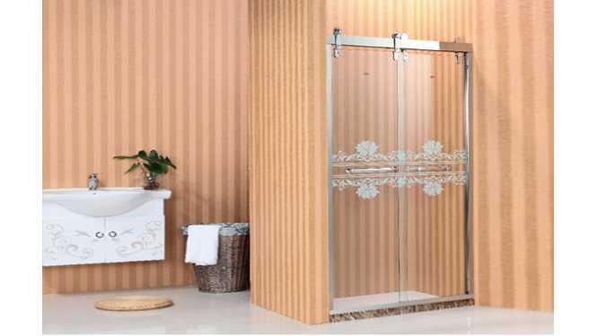 一字型 不锈钢 淋浴房 双活F1,法拉易,建材,卫浴用品,淋浴房