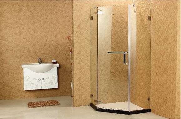 钻石型 不锈钢 淋浴房 L2-3