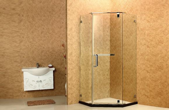 钻石型 不锈钢 淋浴房 Y3