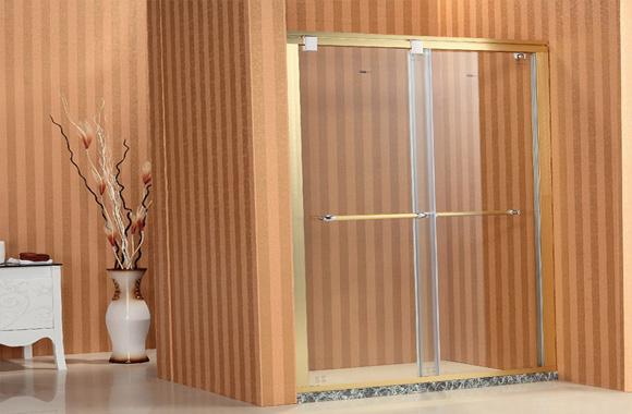 一字型 双活动 淋浴房 F8