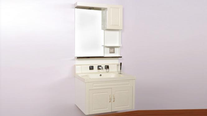 挂墙式豪华PVC卫浴柜洗脸盆柜组合卫生间洗手盆浴室柜 700mm A1