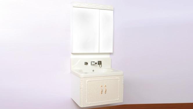 实木欧式玉石浴室柜组合玉石洗手洗脸盆台柜池玉石盆挂墙卫浴柜 700mm 70A