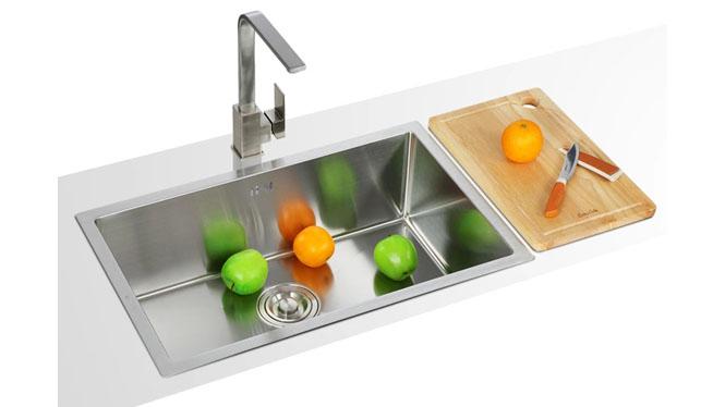 304不锈钢水槽洗菜盆 双槽加厚 厨房台下盆手工槽特价套餐 6843S