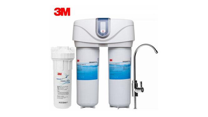 3M净水器家用直饮净水机 厨房过滤直饮机正品双子净智DWS6000T-CN