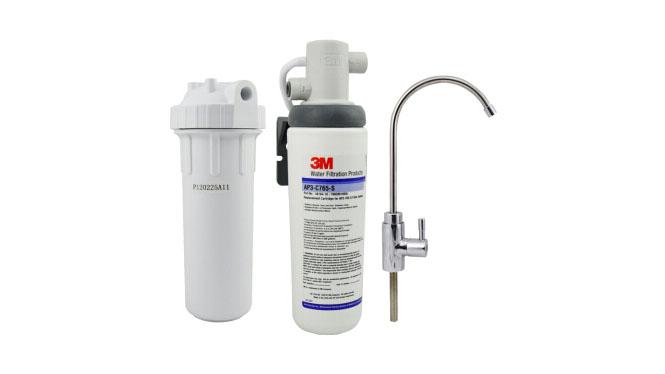 3M净水器家用直饮高端厨房台下式龙头过滤器 除垢净水机 AP3-765S