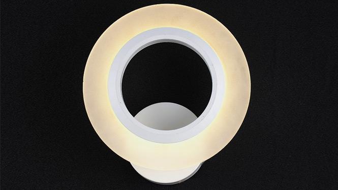 新款led壁灯 厂家批发直销亚克力创意阳台过道灯圆形卫生间灯具 FB8036