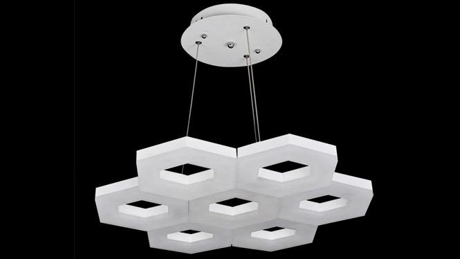 LED餐厅吊灯客厅灯饰现代简约创意卧室艺术吊灯 FD8041-1-6-7