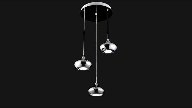 新品简约 LED吊灯客厅卧室 吧台餐厅灯 饭厅灯时尚餐吊灯FD8055-3