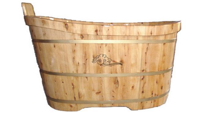 香柏木成人沐浴桶泡澡木桶 成人洗澡桶木桶浴缸 RY005