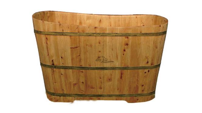 香柏木桶浴桶红运泡澡木桶成人洗澡桶木质浴缸沐浴盆RY018